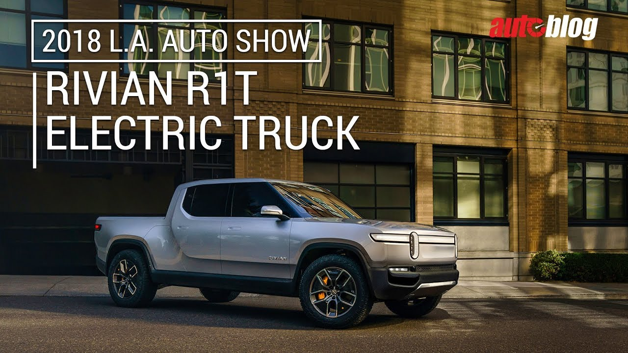 Rivian R1t All Electric Truck Was A Standout At The La Auto Show