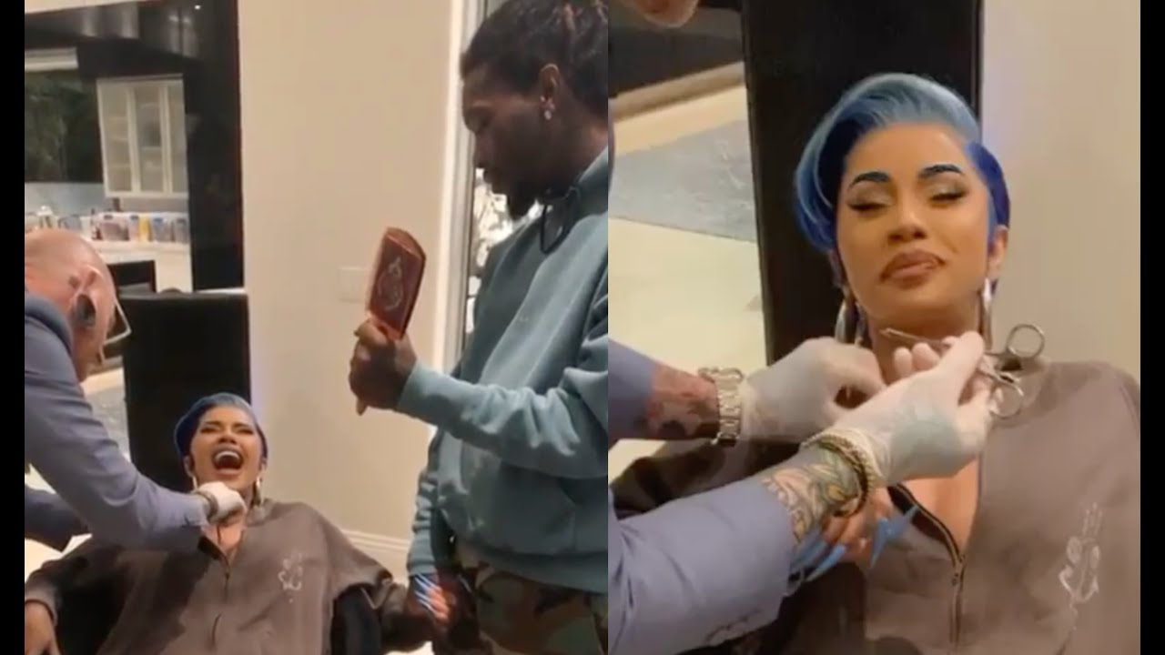 Download Cardi B Gets A Piercing In Her Neck Screams For Offset