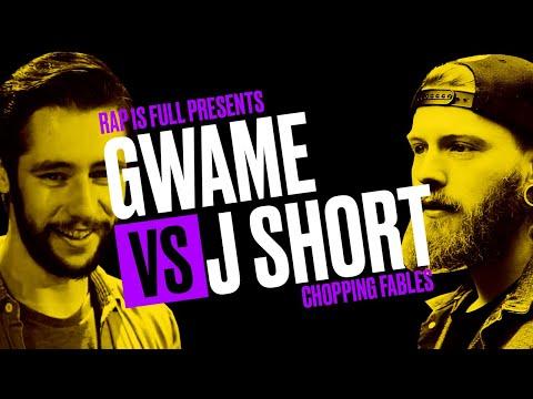 Gwame vs JShort | Rap is Full | #ChoppingFables