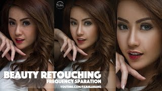 Beauty Retouching | Frequecy Sparation Poshop Tutorial