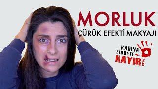 Morluk Çürük Efekti Nasıl Yapılır? Efekt Makyaj(Effect Makeup)