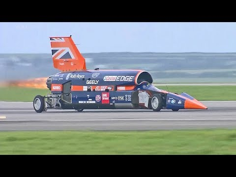 World's Fastest Car – 1,000mph Bloodhound SSC – First Public