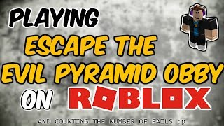 Escape the Evil Pyramid || Roblox Gameplay #roblox #robloxobby