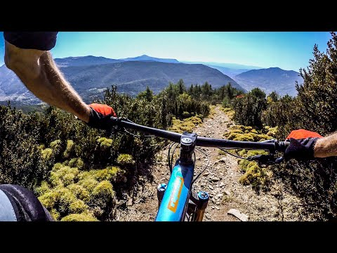 The terrain in Spain is mostly insane 🇪🇸 Mountain Biking the High Pyrenees Day 6