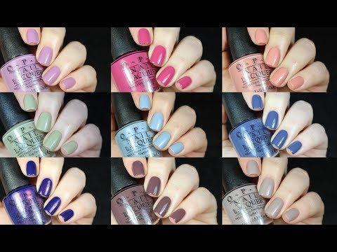 OPI Iceland Collection Live Swatch + Review!!
