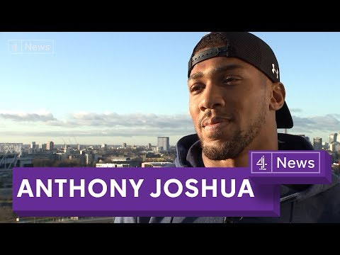 Anthony Joshua interview: Training, knife crime and the Joseph Parker fight