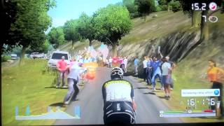 Tour De France 2011 Xbox 360 gameplay