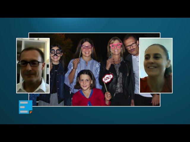 Conversas na ECCLESIA - A comunicação e o otimismo ajudaram a família em tempo de pandemia