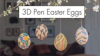 3D Pen Easter Eggs with the 3Dsimo Mini