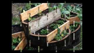 Vertical Strawberry Planter Ideas