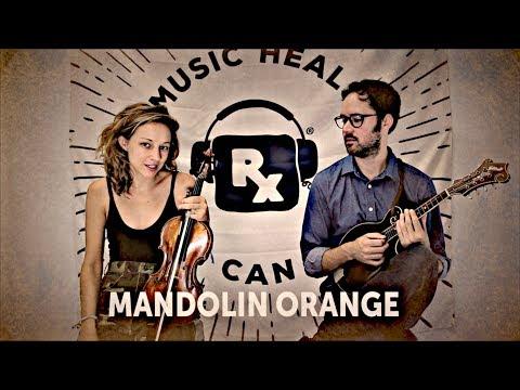"Mandolin Orange performs ""Ora Lee"" backstage @ Newport Folk Fest 2017"