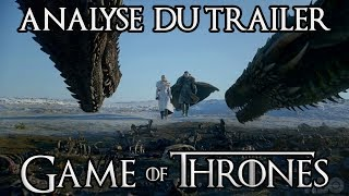Game of Thrones saison 8 : analyse du trailer !