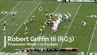 Robert Griffin III (RG3) looked sharp versus Packers despite poor numbers (NFL Breakdowns Ep 18)