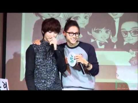 CNU (B1A4) - Aegyo and cute moments~ ^^
