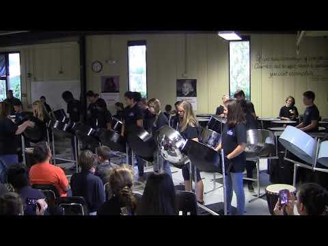Best Day of My Life, Bok Academy Steel Drum Ensemble 3-26-15