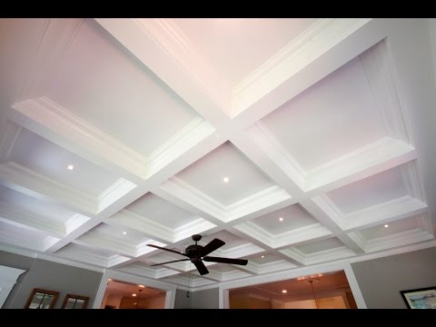 Tilton box beam coffered ceiling system easily the for How to build a box beam