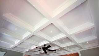 Tilton Box Beam Coffered Ceiling System | QUICK & EASY TO INSTALL!