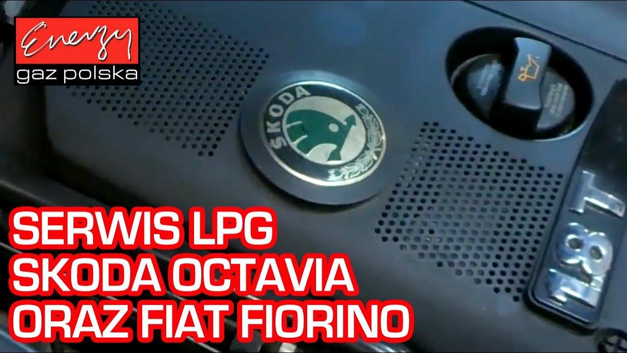 Serwis LPG: Przegląd BRC Skoda Octavia oraz Flotowy Fiat Fiorino na auto-gaz w Energy Gaz Polska