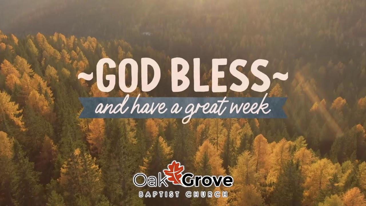 GroveGroups Sunday School Lesson (September 26, 2021)