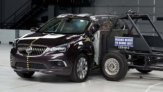 2016 Buick Envision side IIHS crash test