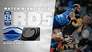 ROUND 5   Blues v Force (Sky Super Rugby Trans-Tasman)