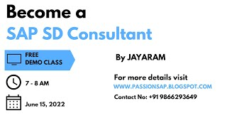 SAP SD TRAINING - SAP SD SALES CYCLE or ORDER TO CASH (OTC) CYCLE or FORWARD CYCLE