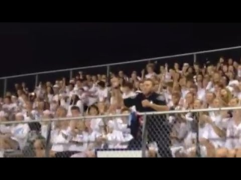 Cop Enters School's Football Stands And Shocks Everyone
