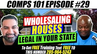 Is Wholesaling Houses Legal In Your State - Comps101 And Dealulator.com