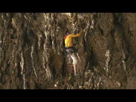Climbing in socotra