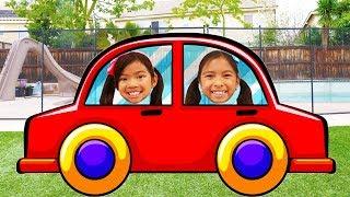 Kids Go Shopping Song   Wendy & Emma Pretend Play Nursery Rhymes & Kids Songs