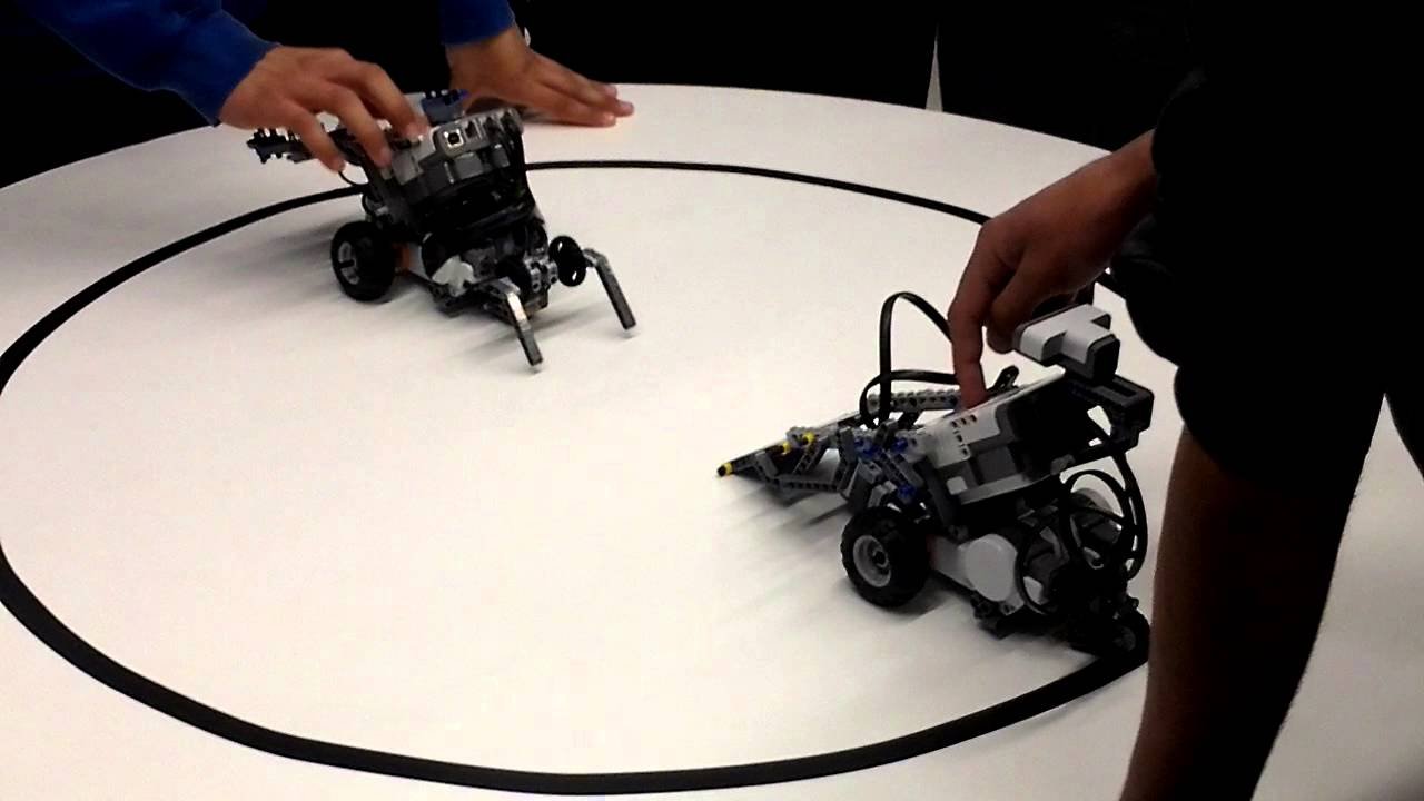 Pelea De Robots Sumo