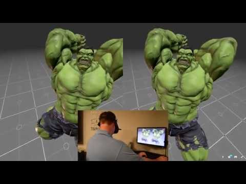 Sketchfab 3D model viewer using WebVR