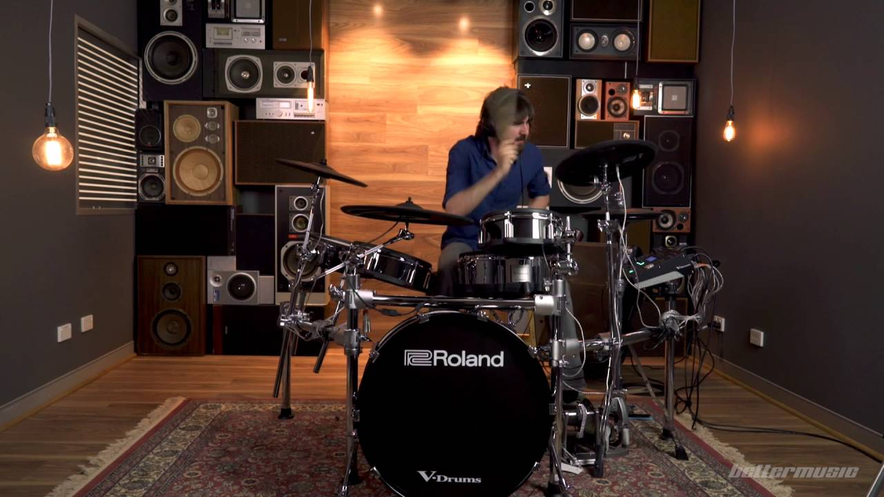 James 5 Favourite Kits - Roland TD-50 Drum Kit | Better Music