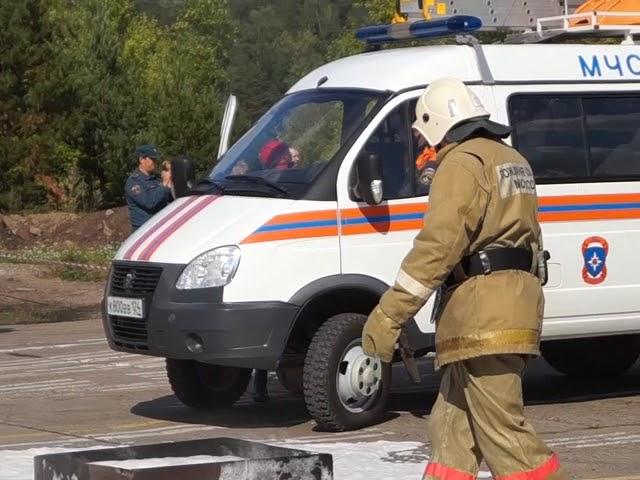Отработка взаимодействия экстренных служб при аварии на транспорте
