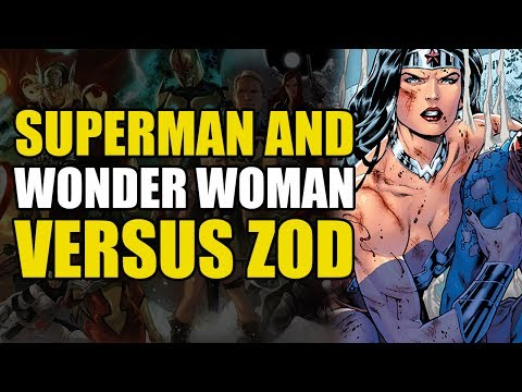 Superman & Wonder Woman vs General Zod (New 52 Superman/Wonder Woman Vol 1: Power Couple)