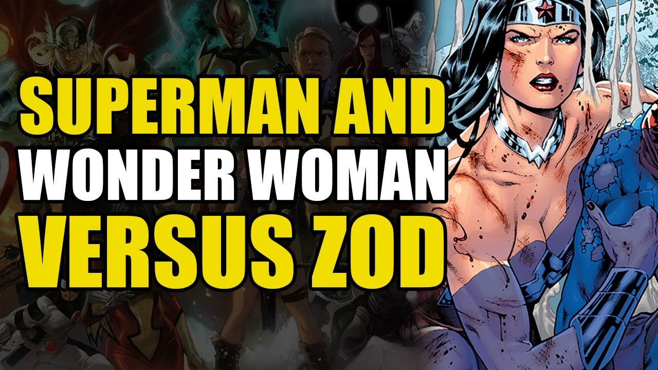 Superman  Wonder Woman Vs General Zod New 52 Superman -1690