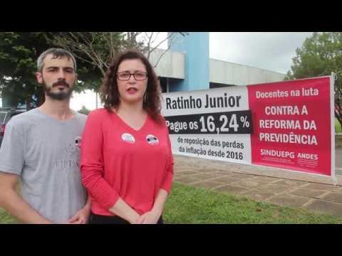 PARALISAÇÃO NA UEPG 29 DE ABRIL DE 2019