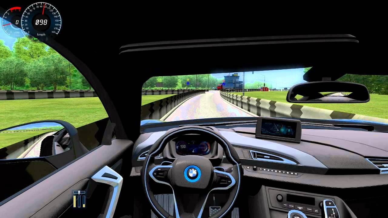 City Car Driving Bmw I8 Youtube