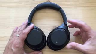 Sony WH-1000XM3 unboxing