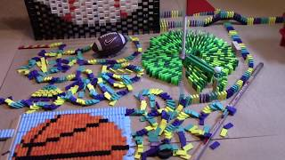 Download DUDE PERFECT IN 8,000 DOMINOES! w  Flashdomino