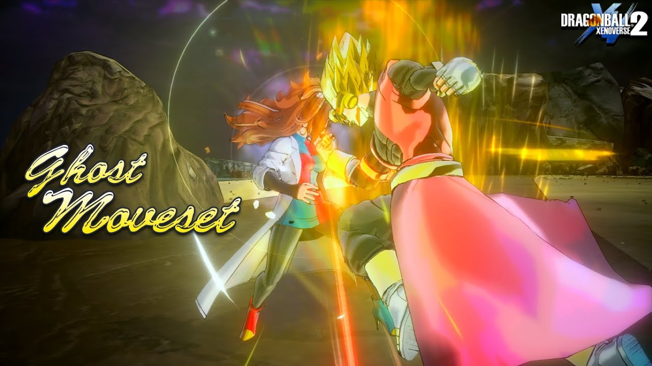 NEW Custom Ghost Moveset for CAC! Dragon Ball Xenoverse 2 Custom CAC Mods w/Transformation & Moveset