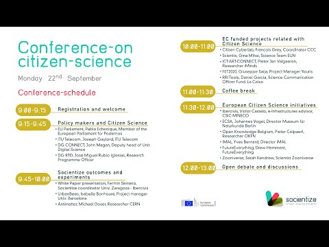Conference on Citizen Science in Europe