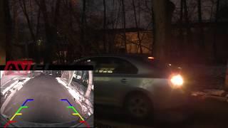 видео CCD штатная камера заднего вида c динамической разметкой AVIS Electronics AVS326CPR (#146) для KIA SPORTAGE III (2010-...)