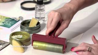 How to Brayer With Stamp Paint for Papercrafting & Cardmaking - Heartfelt Creations