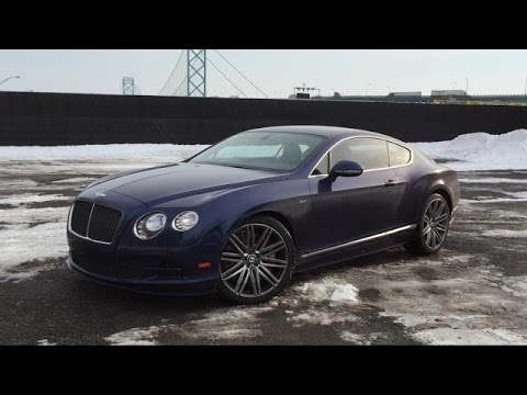 2015 Bentley Continental GT Speed | Daily Driver - YouTube