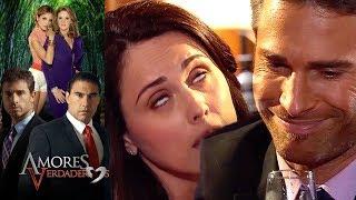 Amores Verdaderos: ¡Adriana intenta seducir a Guzmán! | Escena - C50 | Tlnovelas
