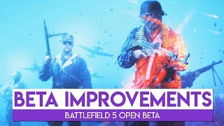 BETA IMPROVEMENTS! | Battlefield 5 Beta Gameplay