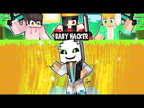 3 GIOCATORI CONTRO 1 BABY HACKER SU MINECRAFT!
