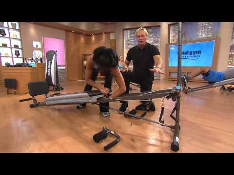Total Gym Platinum Plus w/8 Attachments & 4 DVDs with Rick Domeier