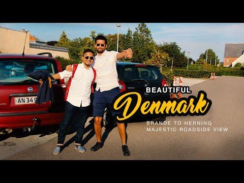 Brande to Herning Denmark